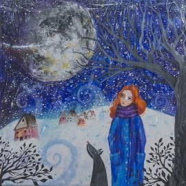 Silvia Sochuláková - Zimná prechádzka