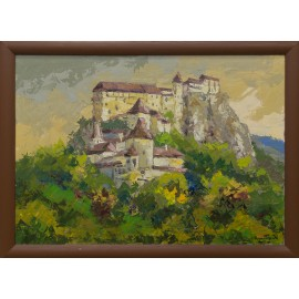 Akad. Mal. Varuzhan Aghamyan - Oravský hrad